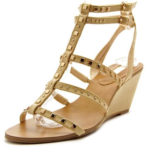 INC International Concepts Windye Women US 8 Tan Wedge Sandal