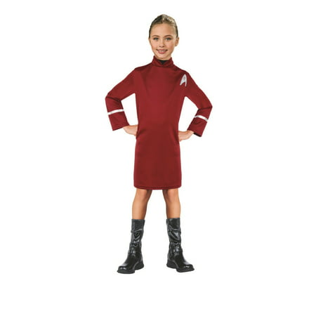 Star Trek Girls Uhura Halloween Costume](Star Trek Womens Costume)