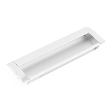Concealed Screw Fix Aluminum Rectangular Flush Pull Handle 5.5