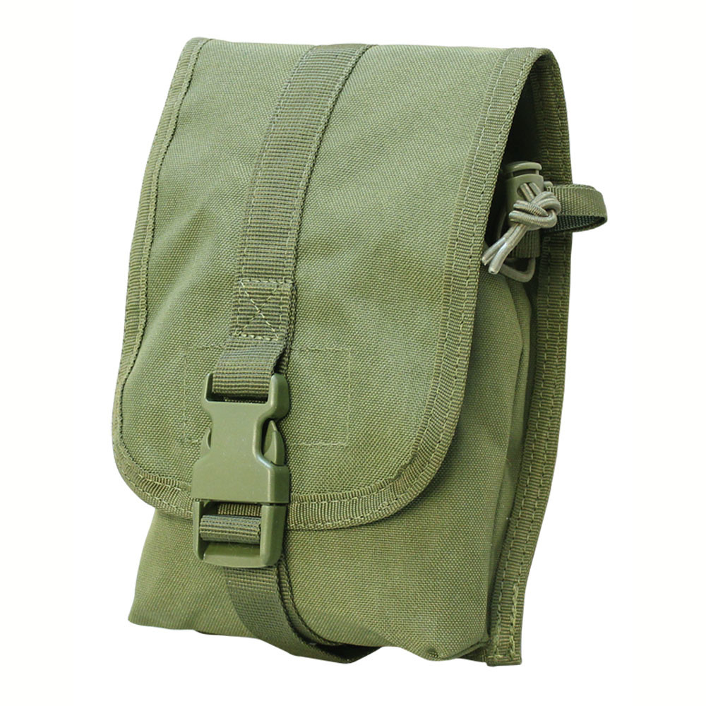OD GREEN Molle PALS Tactical Small Utility Pouch Storage Tool Nylon Pouches