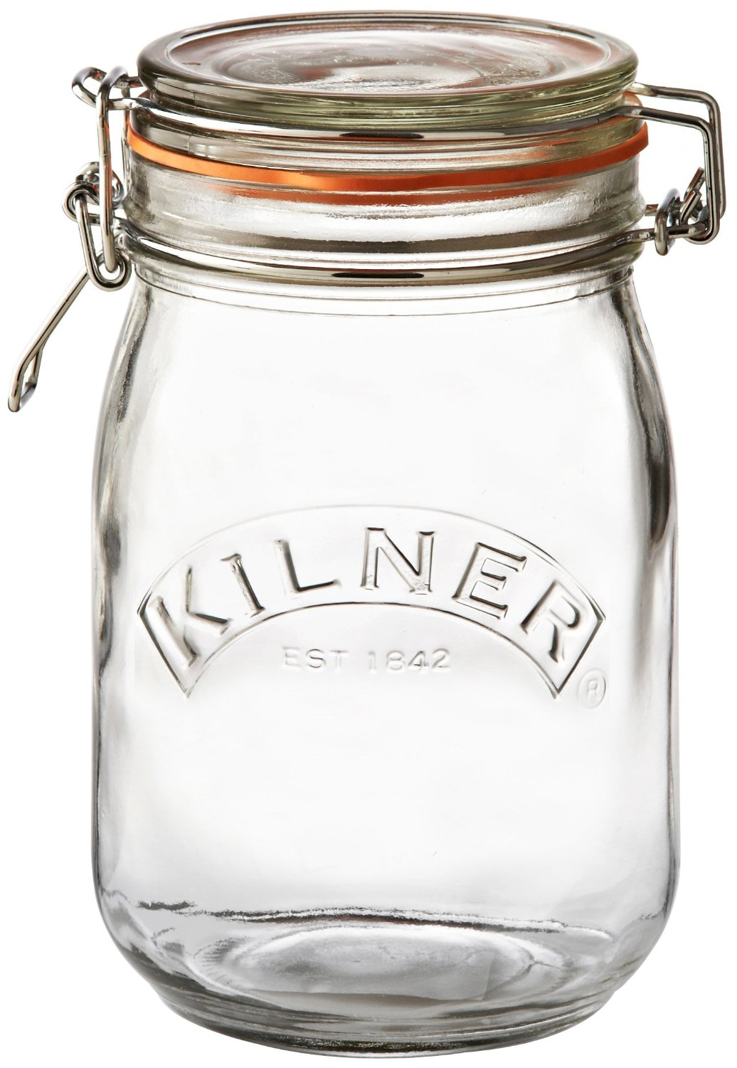 Kilner Storage Jar - Wire Bail - Round - 1 L