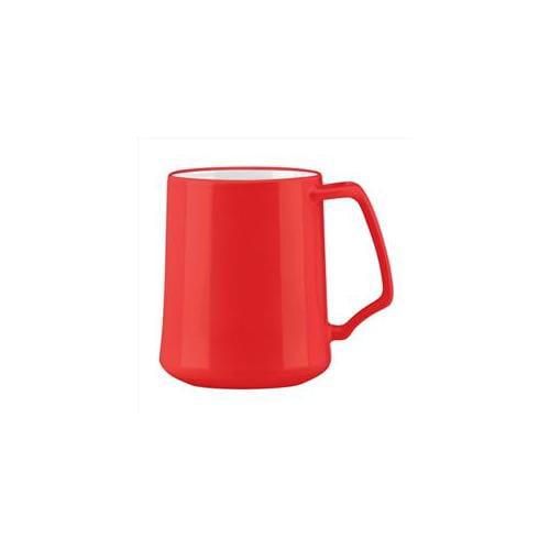 Dansk Kobenstyle Chili Red Stoneware 13 Ounce Coffee Mug