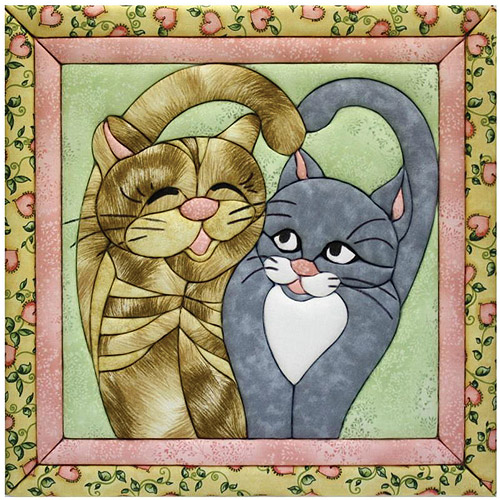 Cat's Meow Quilt Magic Kit