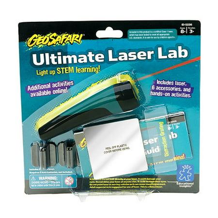 Educational Insights GeoSafari Ultimate Laser Lab