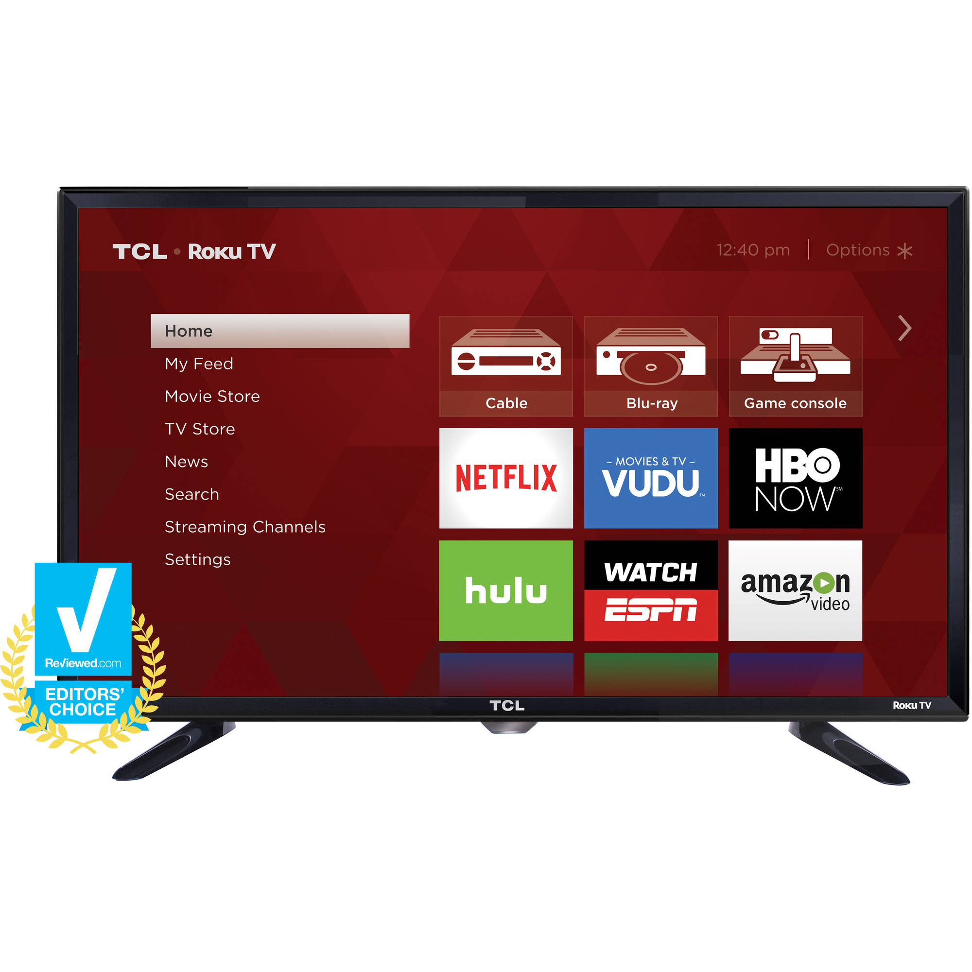 "TCL 28S3750 28"" 720p 60Hz Roku Smart LED HDTV"