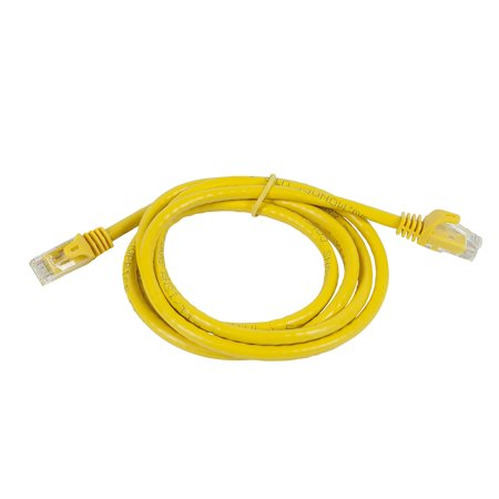 Monoprice Flexboot Cat6 Ethernet Patch Cable - Snagless RJ45, Stranded, 550MHz, UTP, Pure Bare Copper Wire, 24AWG, 3ft, - image 1 de 2