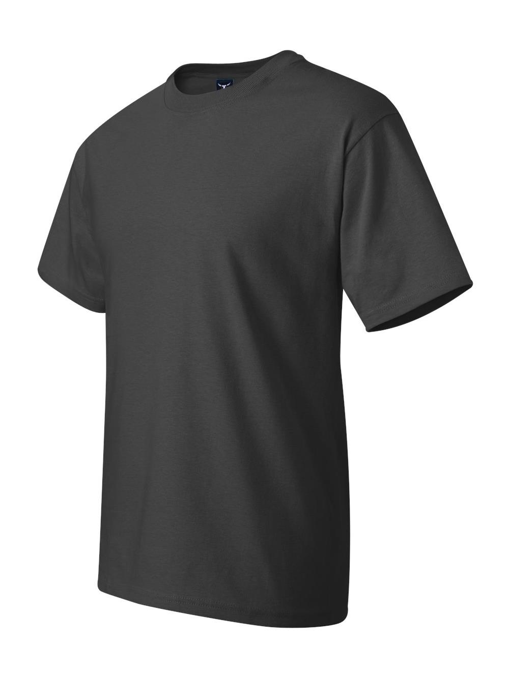 Hanes Hanes Mens Beefy T Crew Neck Short Sleeve T Shirt Up To