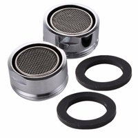"Wideskall 2 Pieces 2.2 GMP 15/16"" inch Male Thread Kitchen Bathroom Faucet Aerator, Chorme"