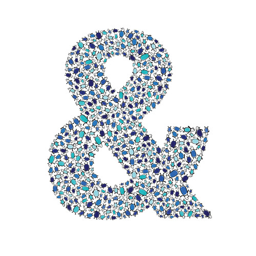 Cici Art Factory Lotsa Alphabet Art Penguins Ampersand Wall Decor