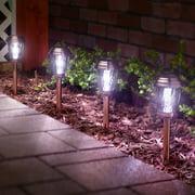 Charleston Solar Pathway Lights - Copper 6-pack