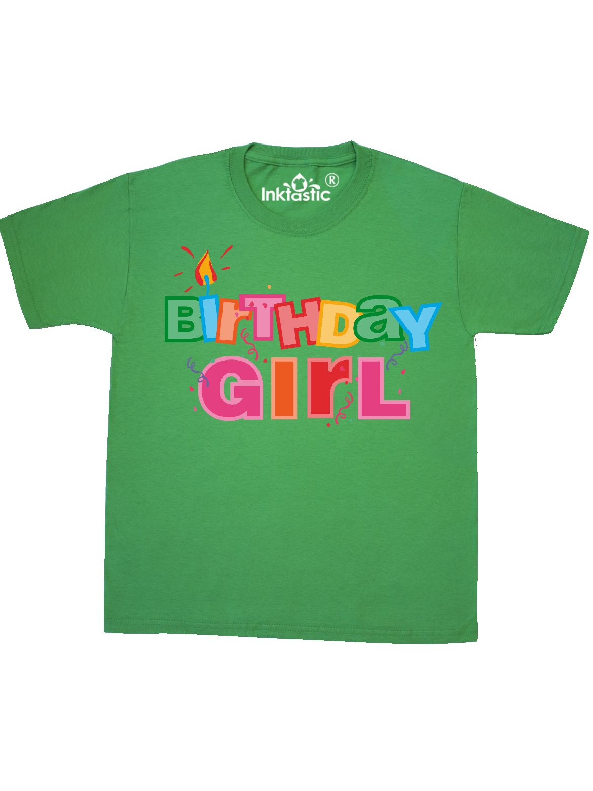 Birthday Girl Letters Youth T-Shirt