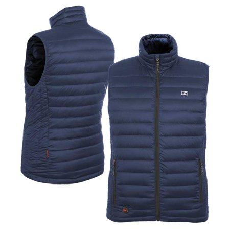 Mobile Warming 12V Men's Endeavor Duck Down Heated Vest L thumbnail