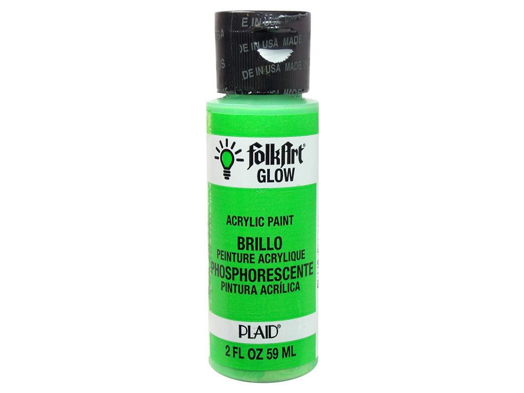 FolkArt Glow in the Dark Paint, 2 oz - Walmart.com