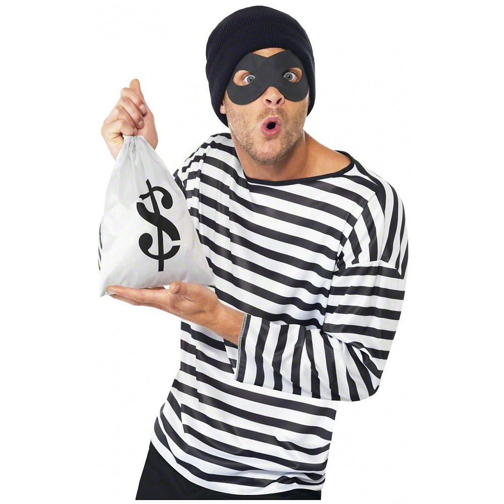 Instant Bank Robber Kit Adult Costume Accessory Kit  sc 1 st  Walmart.com & Instant Bank Robber Kit Adult Costume Accessory Kit - Walmart.com
