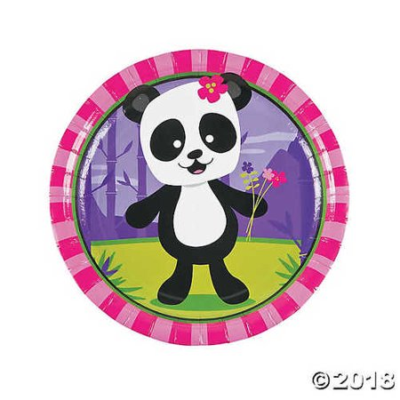 Panda Party Paper Dinner (Panda Birthday Party)