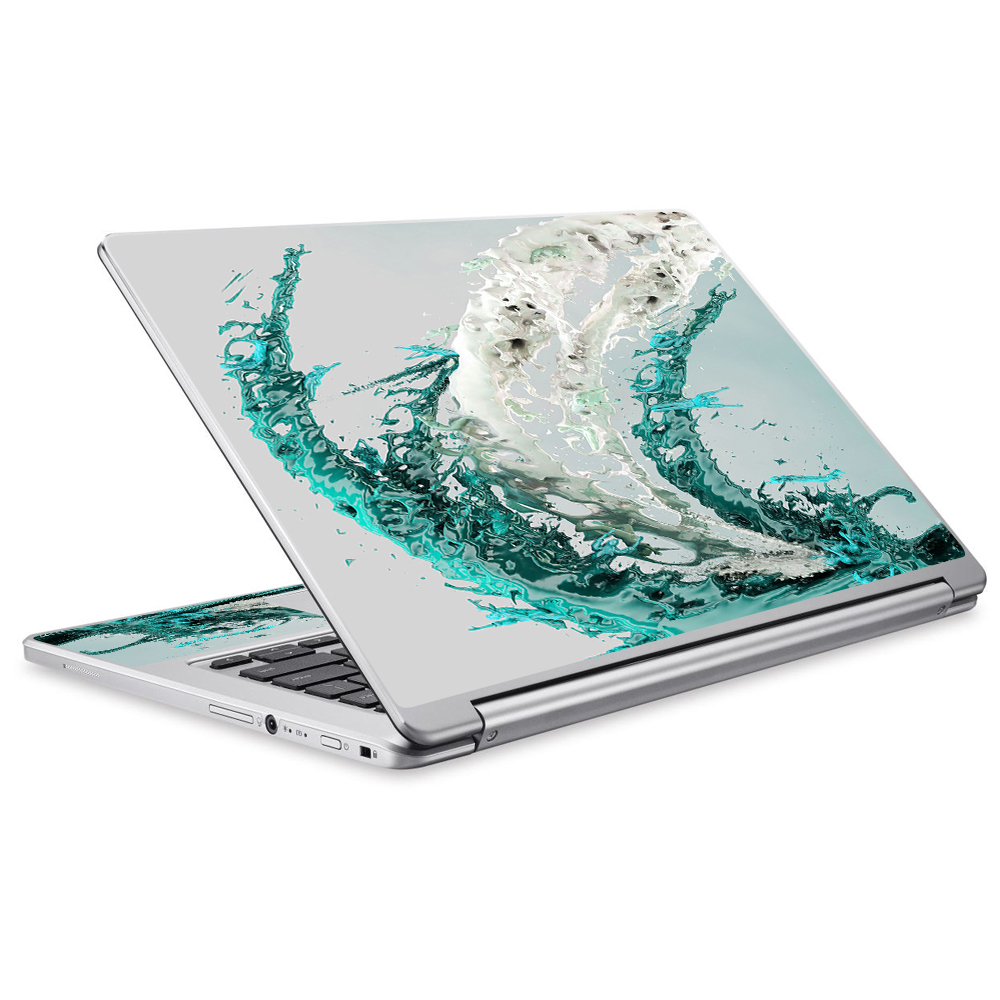 Skins Decals For Acer Chromebook R13 Laptop Vinyl Wrap / Water Splash