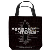 Person Of Interest Numbers Tote Bag White 16X16