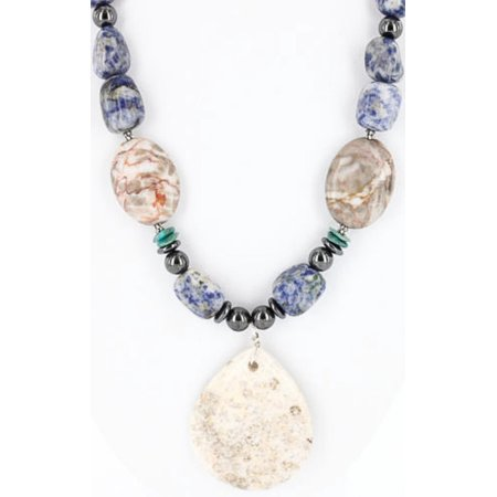 Lapis Jasper (Certified Authentic Navajo .925 Sterling Silver Natural Lapis Turquoise Jasper Native American)
