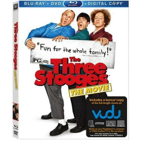UPC 024543822172 - The Three Stooges: The Movie (Blu-ray + DVD +