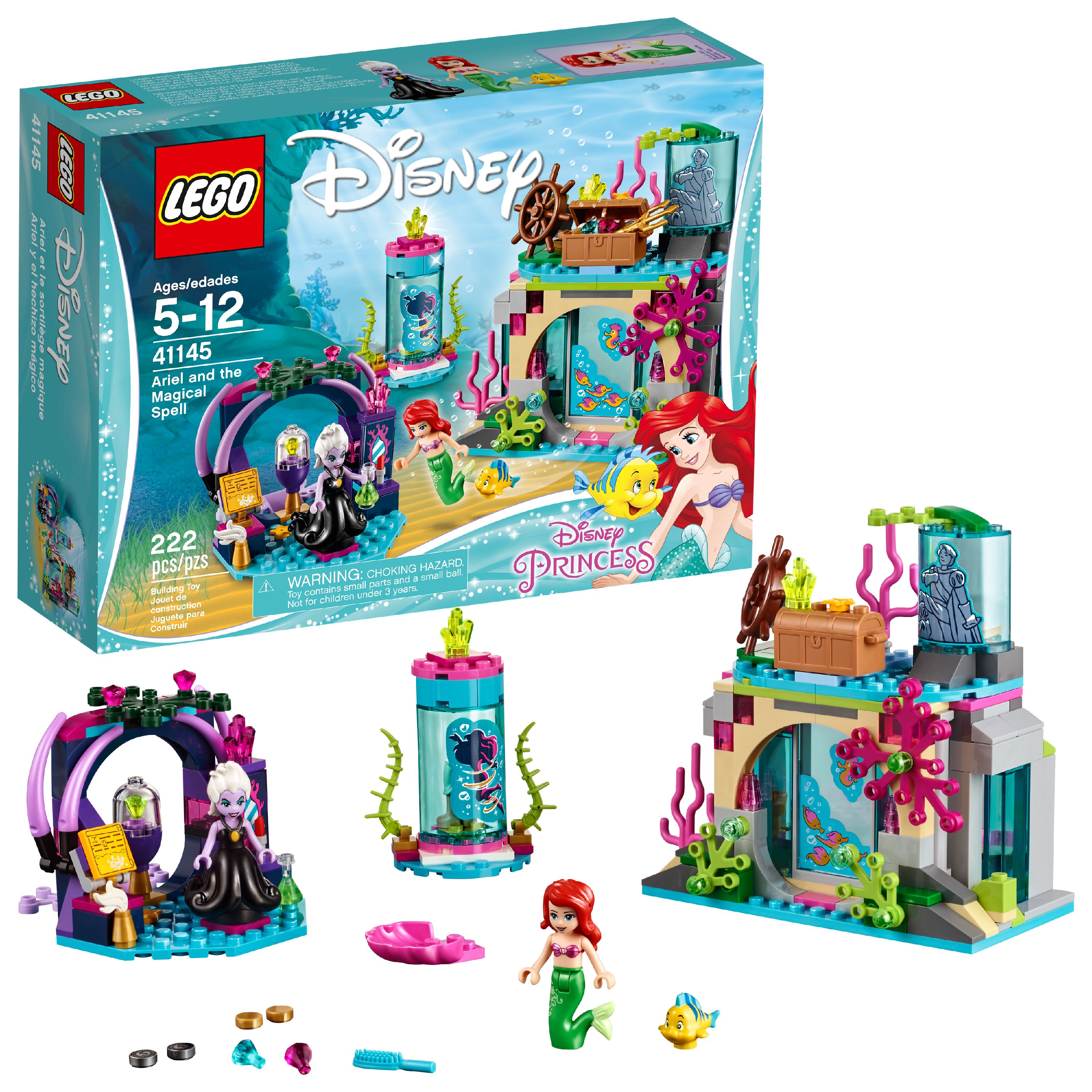 Disney Ariel 41145 Lego Spell Princess The And Magical yf7Ibv6Ygm