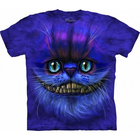 The Mountain Purple Cotton Bf Cheshire Cat Ch Design Novelty Youth T-Shirt - Cheshire Cat Outfits