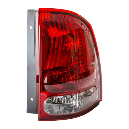 TYC 11-6507-00-1 Passenger Side Tail Light for 04-07 Buick Rainier GM2801233