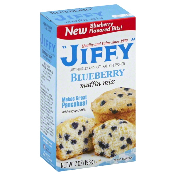Jiffy Blueberry Muffin Mix 7 oz
