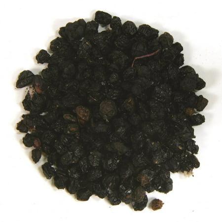 Frontier Elder Berries Whole Organic - 1 lb (Frozen Berries)