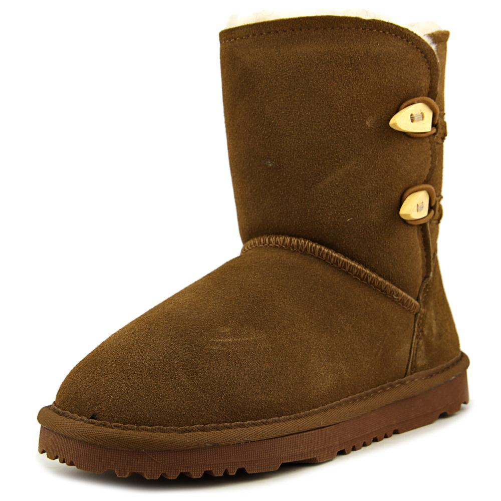 Aussie Merino Jill Kids Youth  Round Toe Suede  Boot