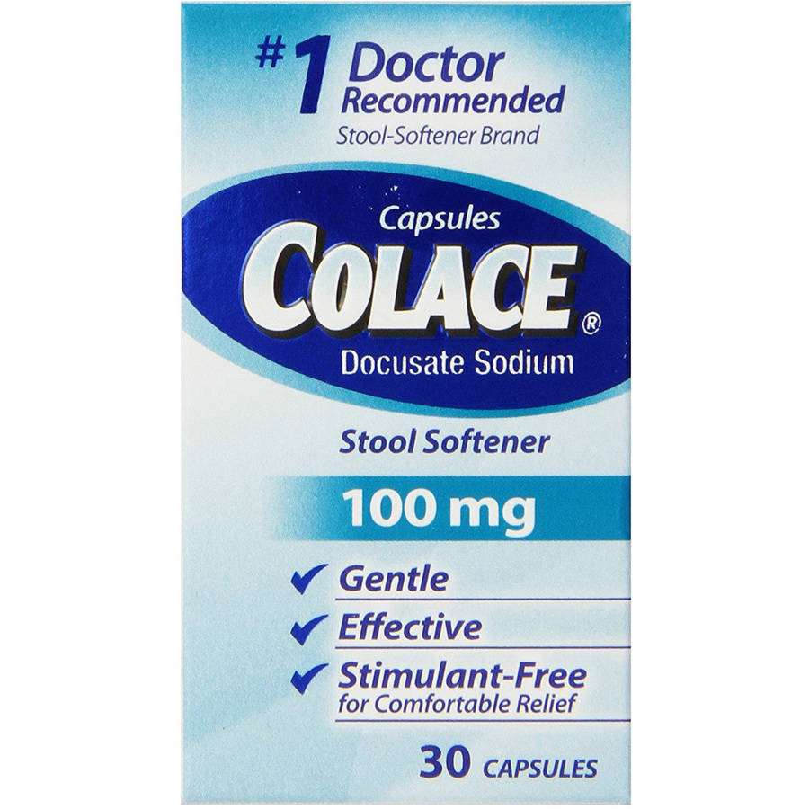 Colace Stool Softener, 30 CT (Pack of 3)