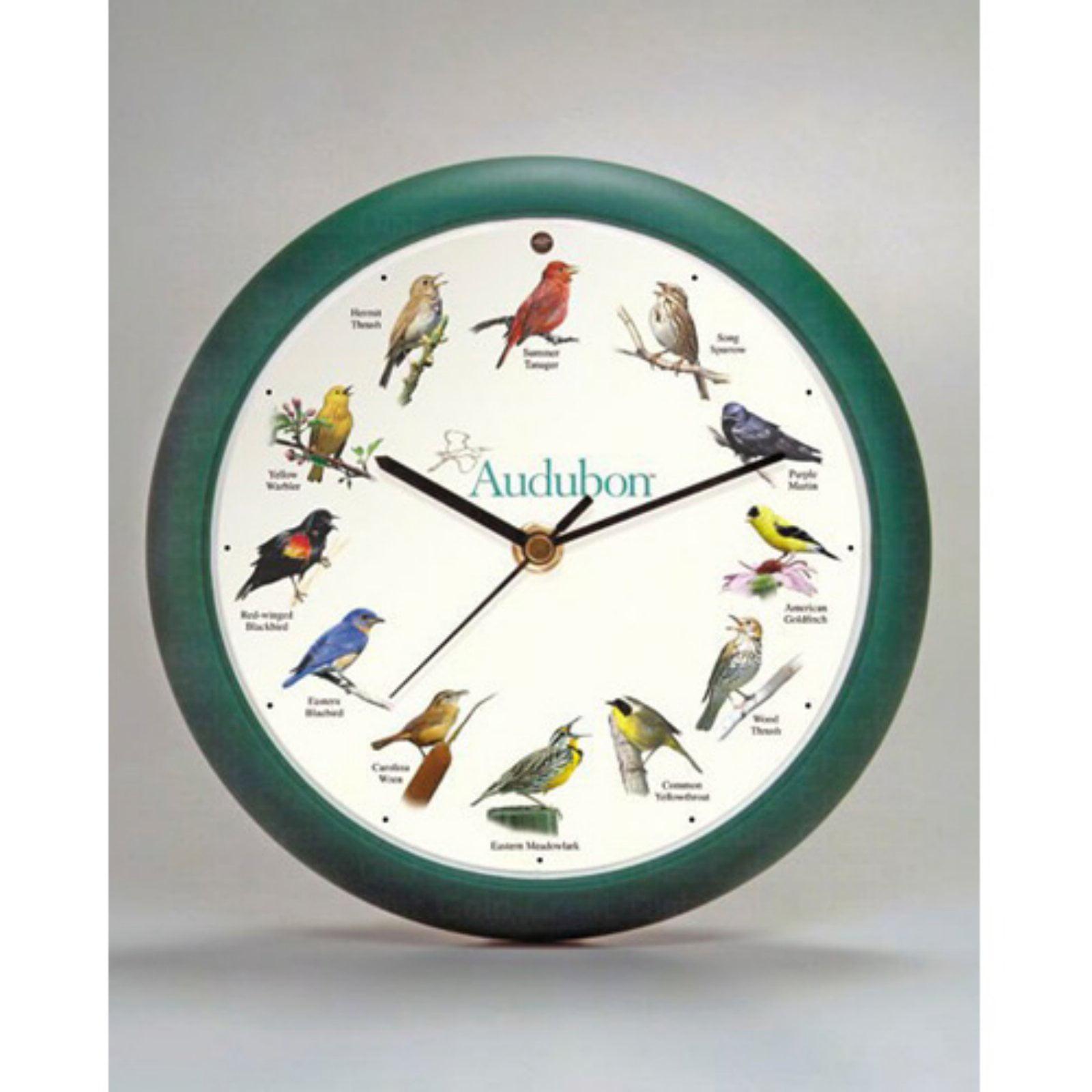 Mark Feldstein Audubon Singing Wall Clock How To Build Cuckoo Sound Generator