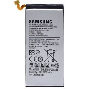 Genuine OEM Samsung Battery EB-BA300ABE 1900mAh For Samsung Galaxy A3 SM-A300F (Non-Retail Packaging)