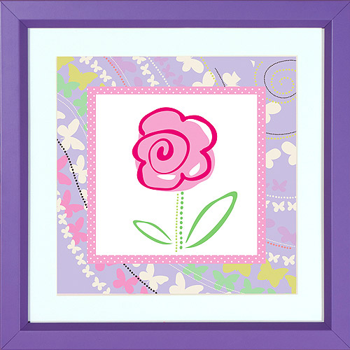 Disney Pink Flower I Wall Decor