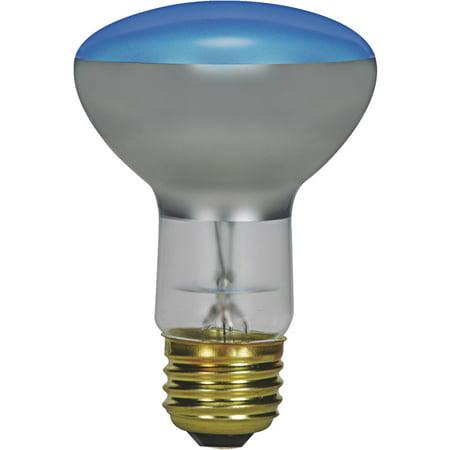 Blue Satco Incandescent Light Bulb - Satco R20 Incandescent Plant Light Bulb