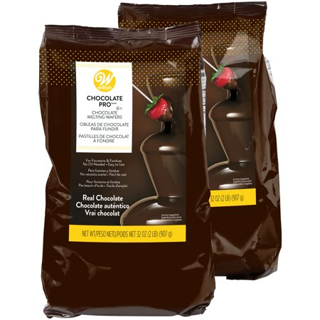 (2 Pack) Wilton Chocolate Pro Fountain Fondue Chocolate - Chocolate For -