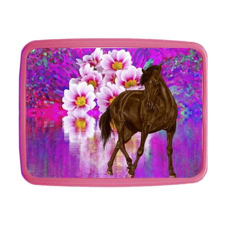 Horse & Flower Lake - Girls 7