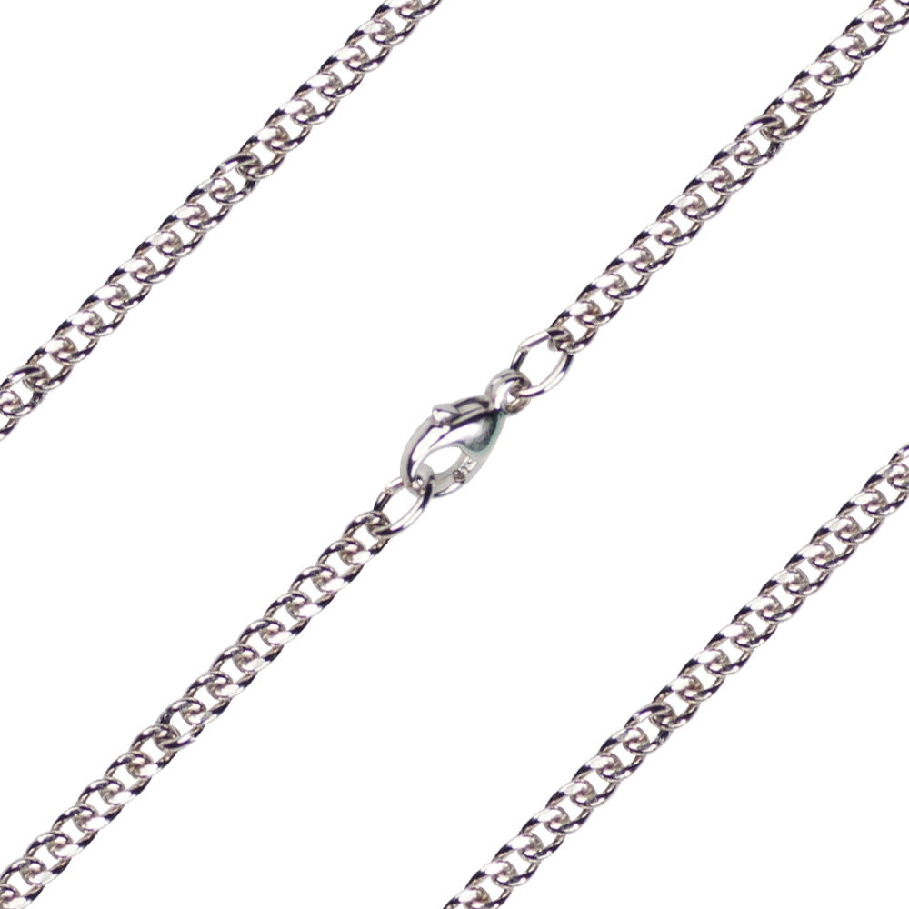 27 inch Sterling Silver Heavy Curb Chain