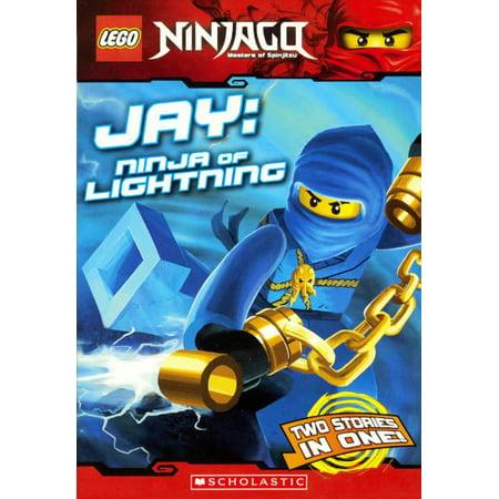 Lego Ninjago Chapter Book: Jay: Ninja of Lightning (Hardcover) - Lightning Simulator Halloween