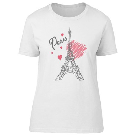 Eiffel Paris Tower Tee Women