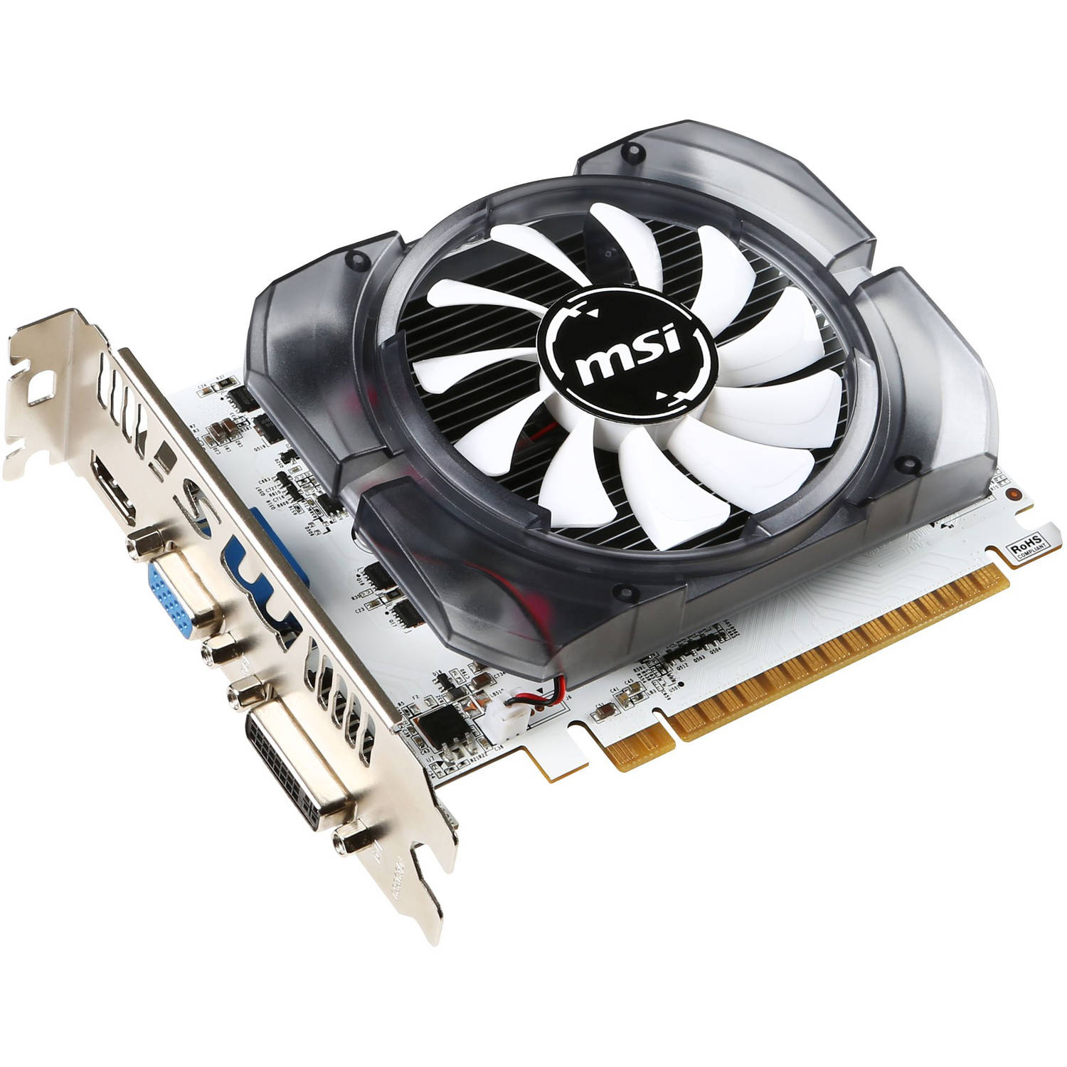 MSI Video NVIDIA GeForce GTX 730 2GB DDR3 PCI Express 2.0 Graphics Card