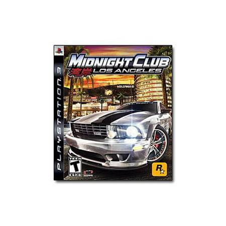 Midnight Club Los Angeles - PlayStation 3 - Halloween Dance Clubs Los Angeles