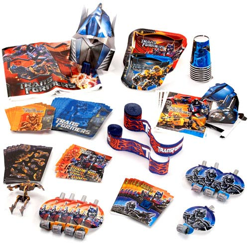 Transformers Birthday Party Supplies Pac