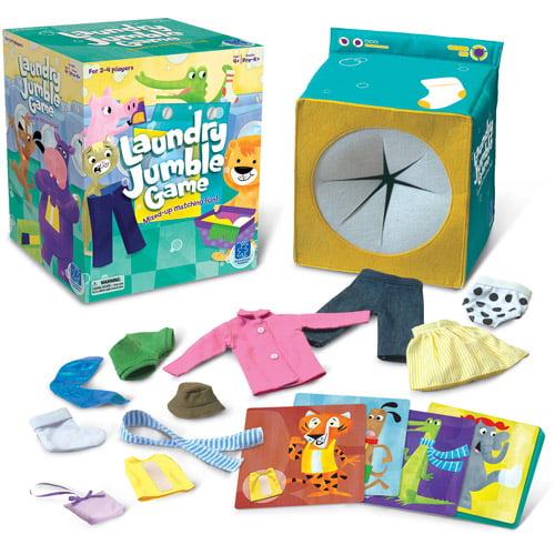 Educational Insights Laundry Jumble Play Set