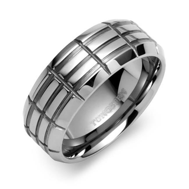 TUNGSTEN 73105 WEDDING BAND - Size 10. 5
