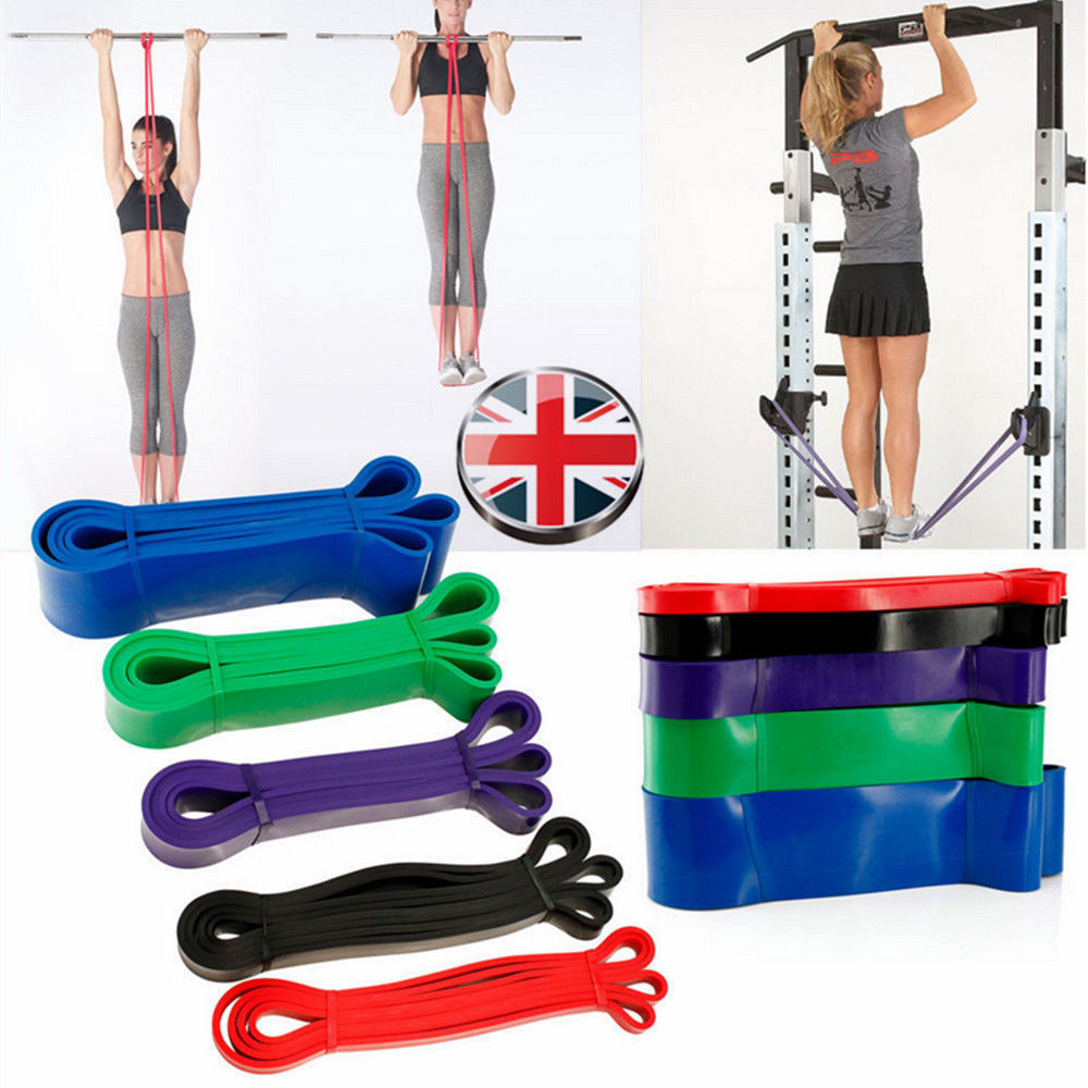 Exercise Resistance Loop Bands Yoga Resistance Belt Latex...