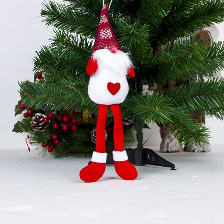 Christmas Hanging Ornaments Christmas Tree Long Foot Doll Pendant Decorations - Walmart.com