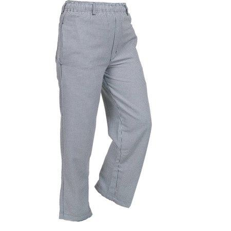 Mercer Millennia Apparel Unisex Chef Pants - Houndstooth, Med