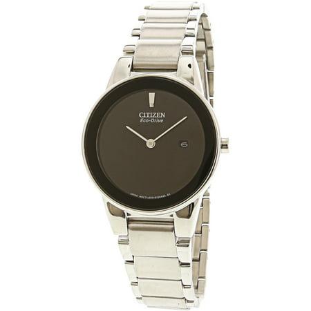51e Watch - Citizen Women's Eco-Drive Axiom GA1050-51E Silver Stainless-Steel Fashion Watch