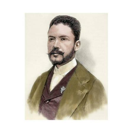 Dario, Ruben (1867-1916). Nicaraguan Poet. Print Wall Art By Tarker