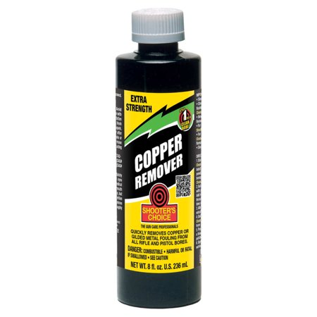 SHOOTERS CHOICE COPPER REMOVER EXTRA STRENGTH CLEANER/DEGREASER 8 OZ